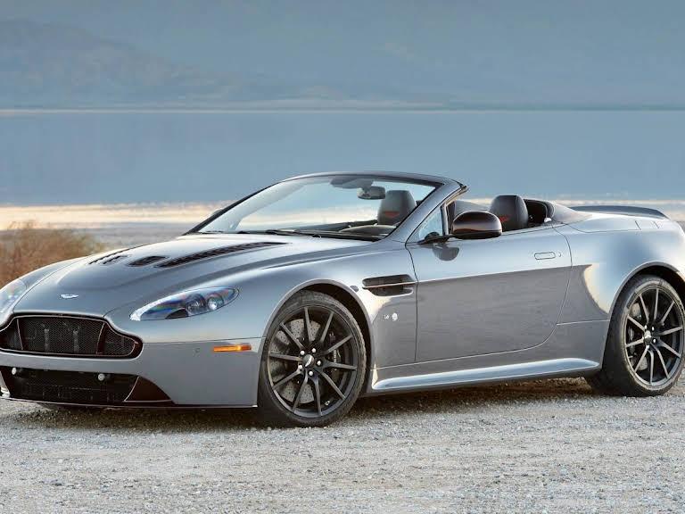Aston Martin Vanquish Volante Hire Monaco