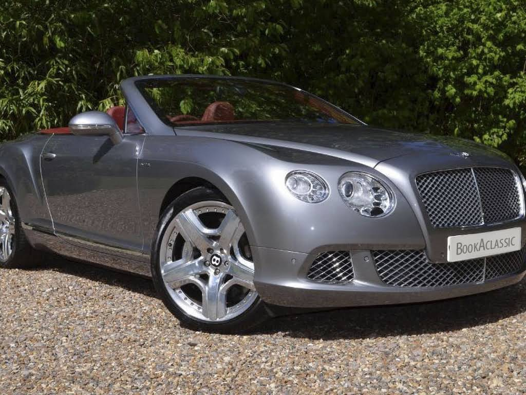 Bentley Continental GTS Hire Monaco