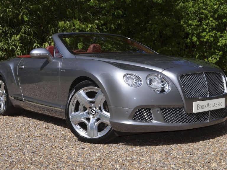 Bentley Continental GTS Hire Monaco