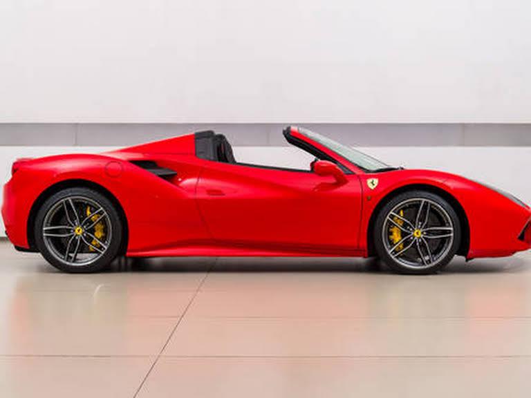 Ferrari 488 Spider Hire Monaco