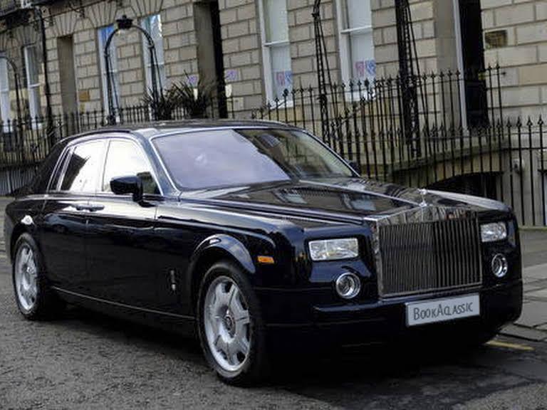 Rolls Royce Phantom limousine Hire Monaco