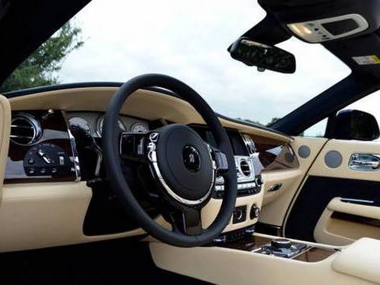 Rolls Royce Dawn Cabriolet Hire Monaco